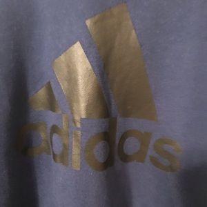 Dark blue Adidas hoodie NWT